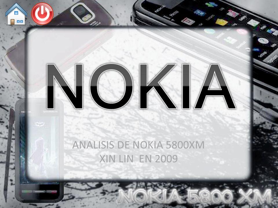 ANALISIS DE NOKIA 5800XM XIN LIN EN 2009
