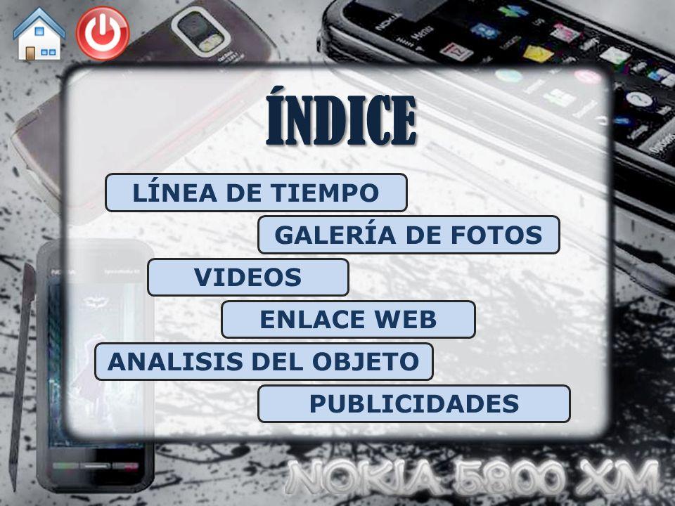 ÍNDICE LÍNEA DE TIEMPO GALERÍA DE FOTOS VIDEOS ENLACE WEB