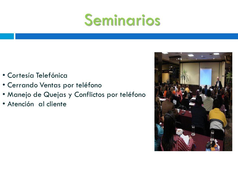 Seminarios Cortesía Telefónica Cerrando Ventas por teléfono