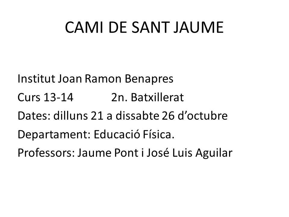 CAMI DE SANT JAUME