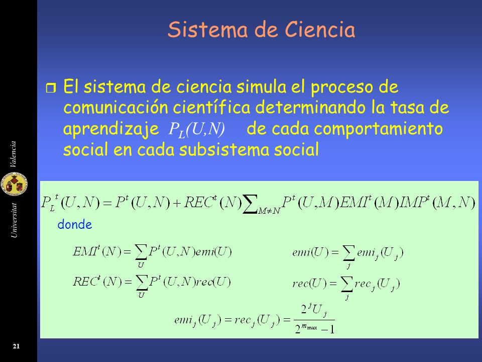 Sistema de Ciencia