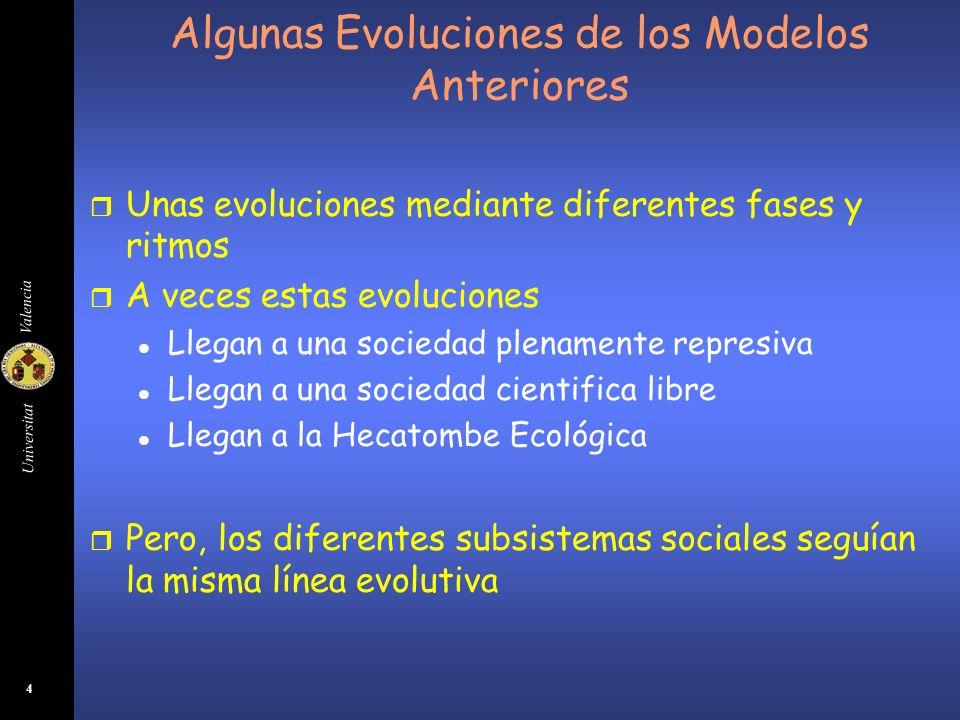 Algunas Evoluciones de los Modelos Anteriores