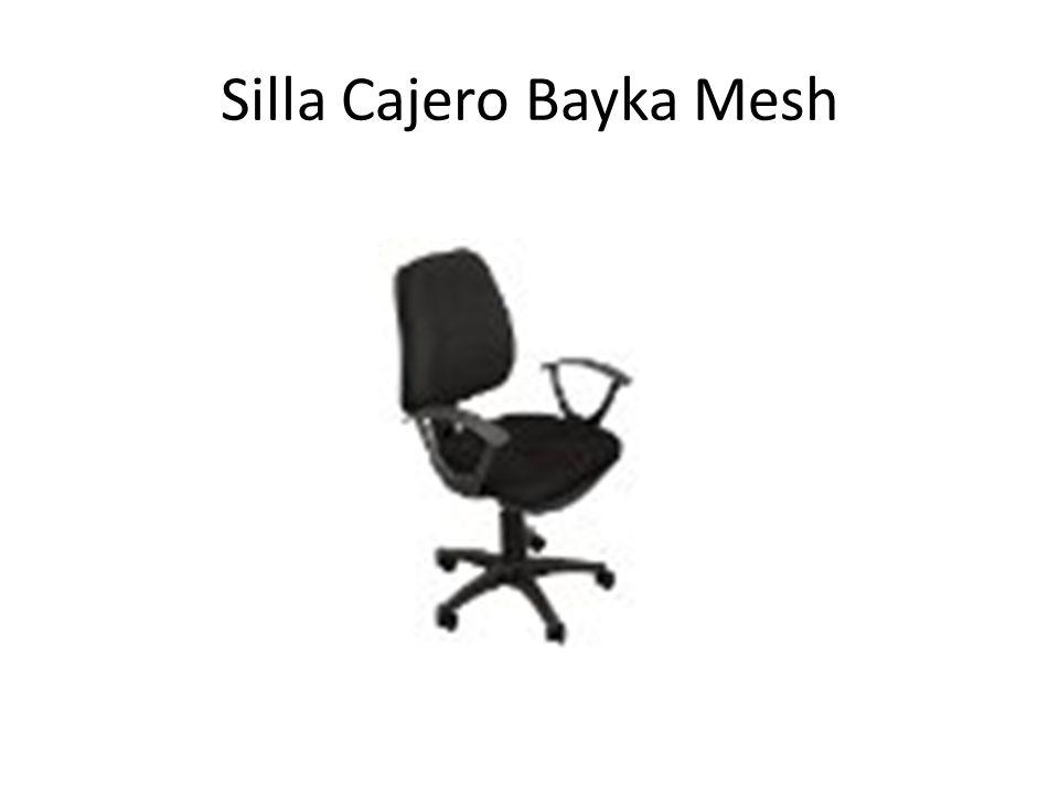 Silla Cajero Bayka Mesh
