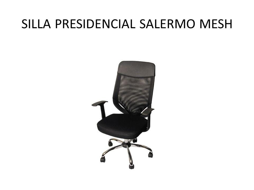 SILLA PRESIDENCIAL SALERMO MESH