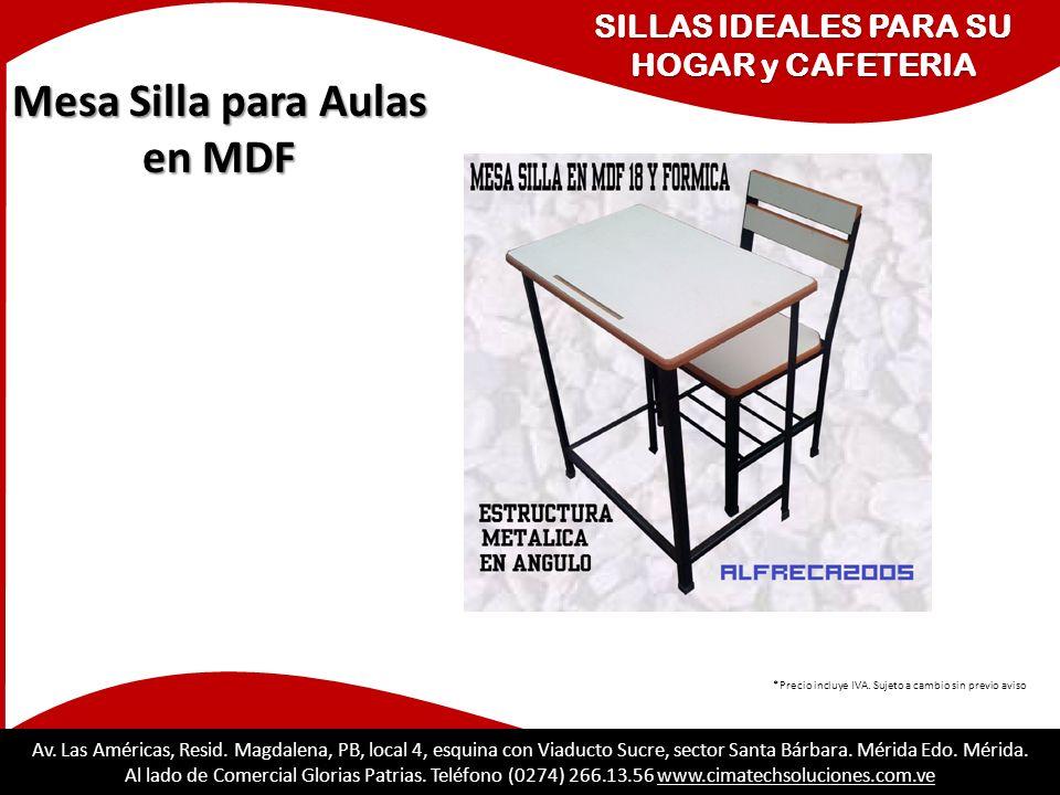 SILLAS IDEALES PARA SU HOGAR y CAFETERIA Mesa Silla para Aulas en MDF