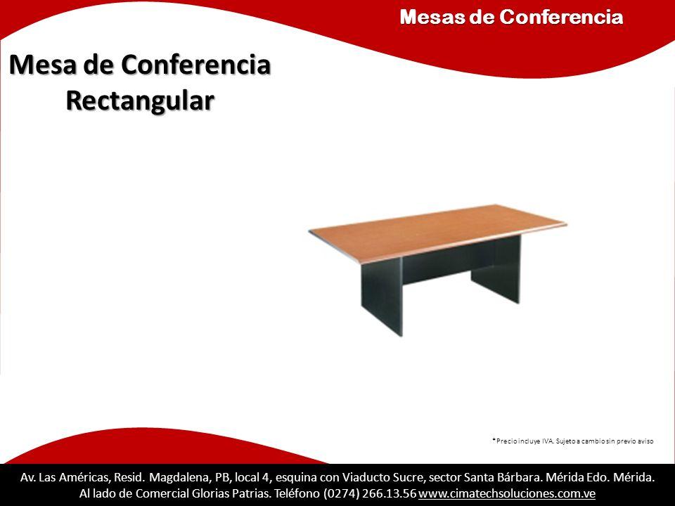 Mesa de Conferencia Rectangular