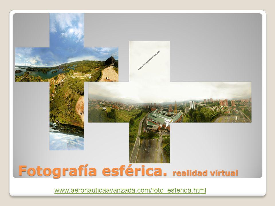 Fotografía esférica. realidad virtual