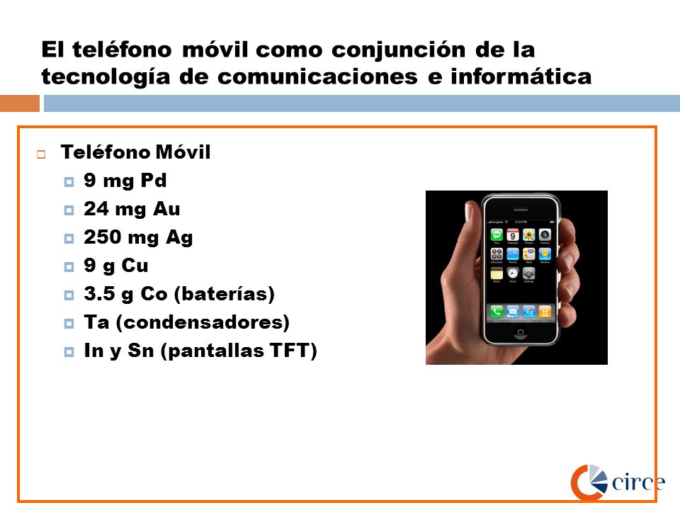 El teléfono móvil como conjunción de la tecnología de comunicaciones e informática