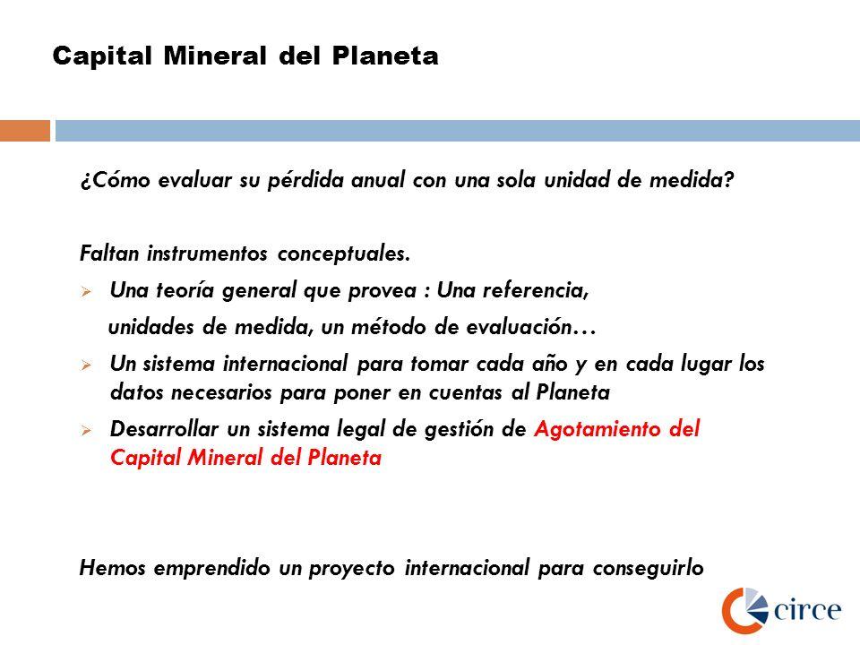 Capital Mineral del Planeta