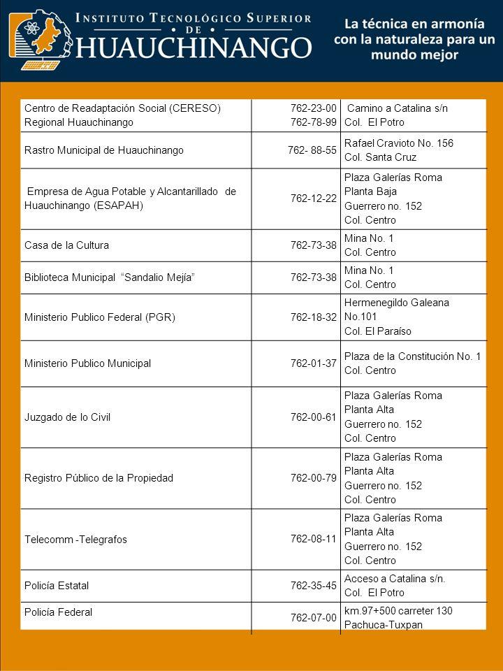 Centro de Readaptación Social (CERESO) Regional Huauchinango