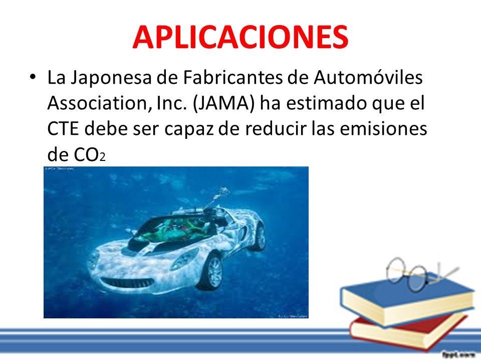 APLICACIONES La Japonesa de Fabricantes de Automóviles Association, Inc.