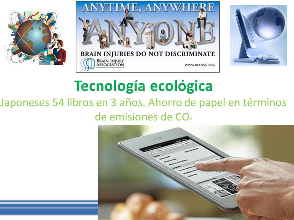 Tecnología ecológica Japoneses 54 libros en 3 años