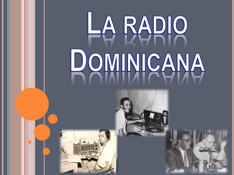 La radio Dominicana
