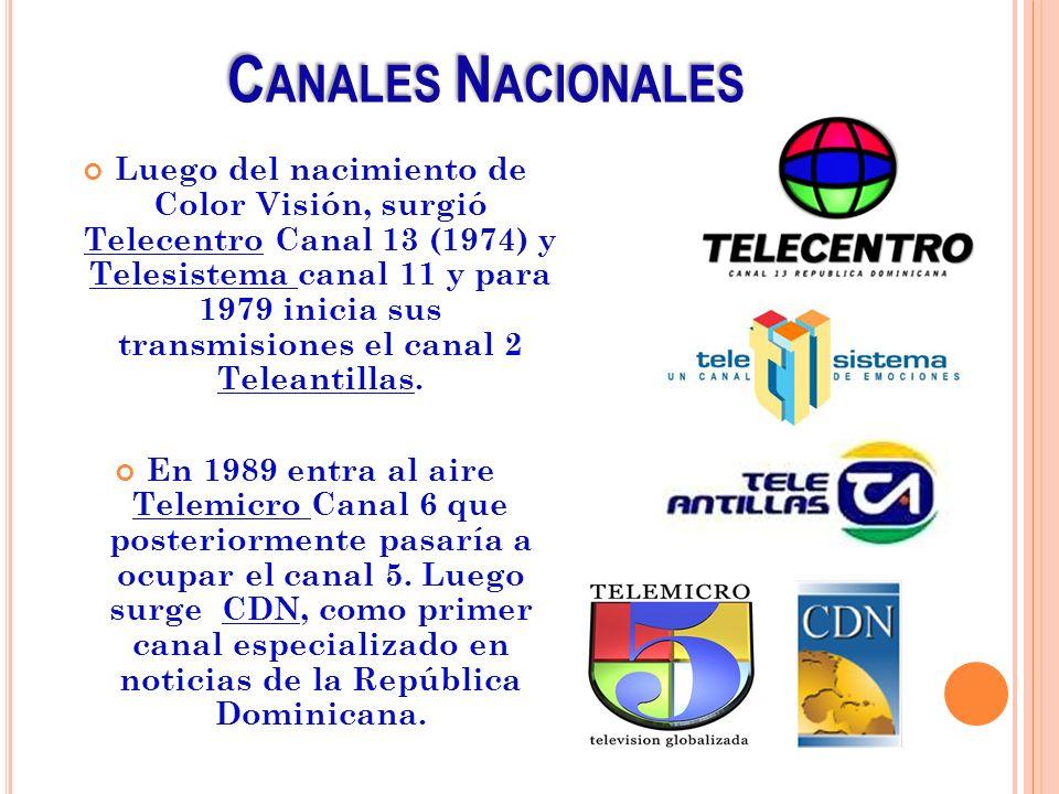 Canales Nacionales