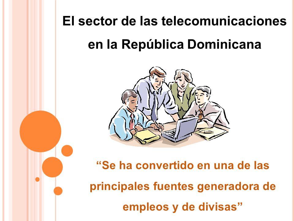 El sector de las telecomunicaciones en la República Dominicana