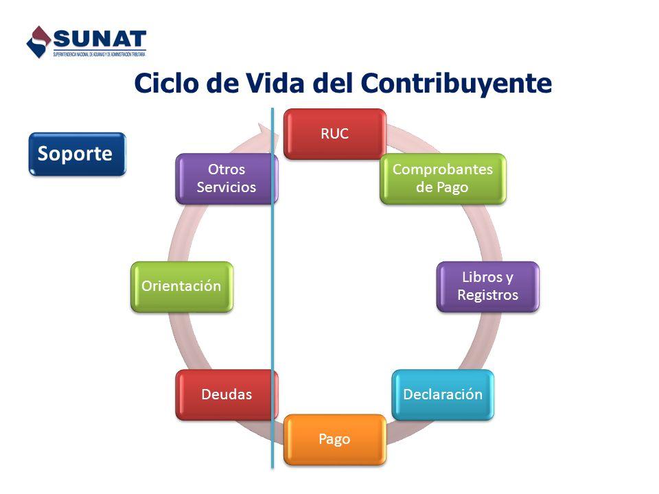 Ciclo de Vida del Contribuyente