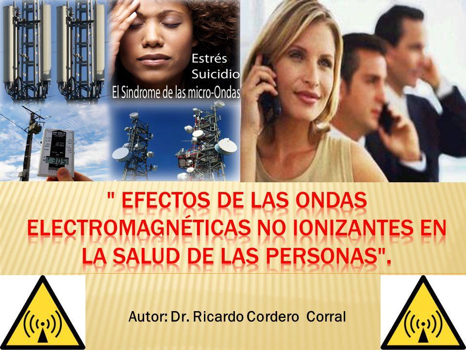 Autor: Dr. Ricardo Cordero Corral