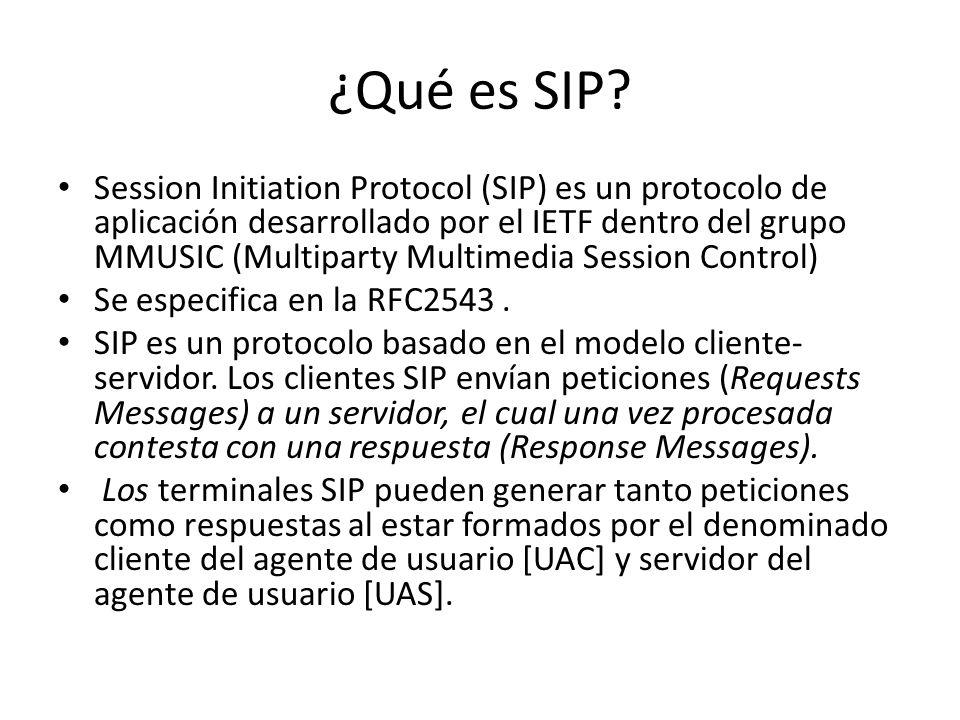 ¿Qué es SIP