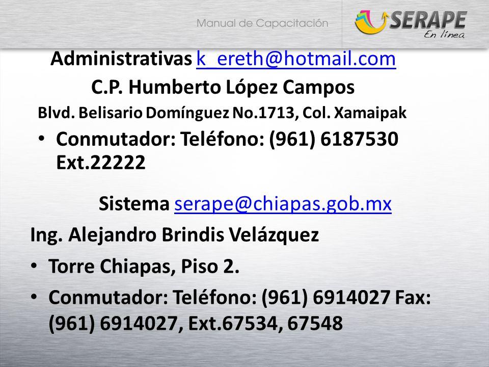 C.P. Humberto López Campos