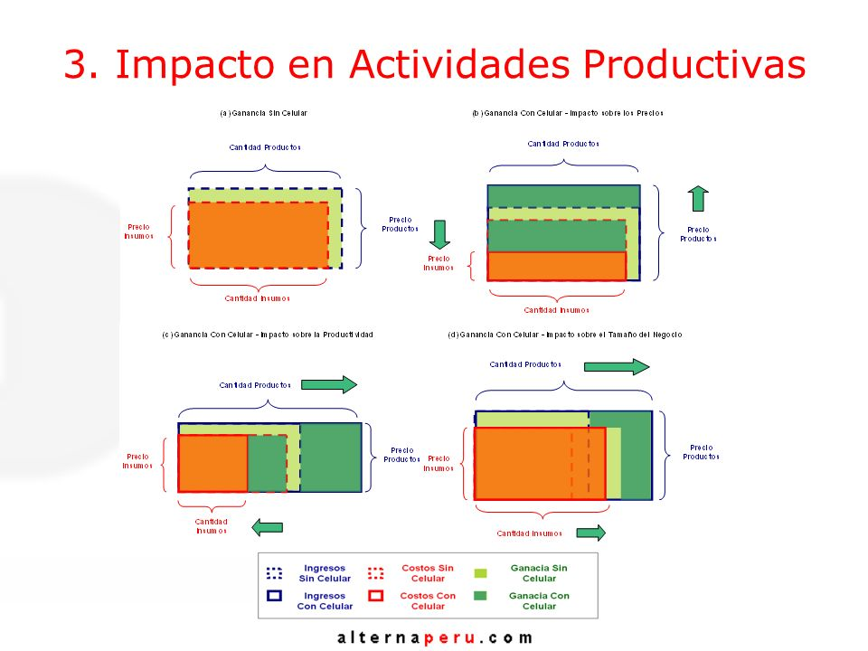 3. Impacto en Actividades Productivas