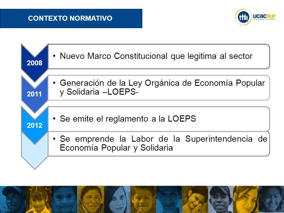 Nuevo Marco Constitucional que legitima al sector