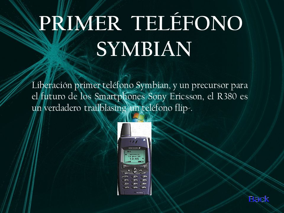 PRIMER TELÉFONO SYMBIAN