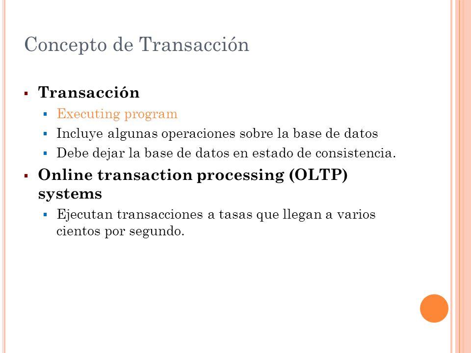 Concepto de Transacción