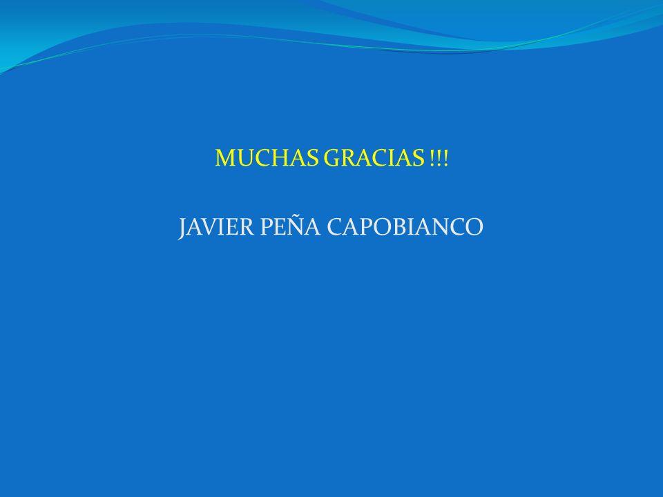 JAVIER PEÑA CAPOBIANCO