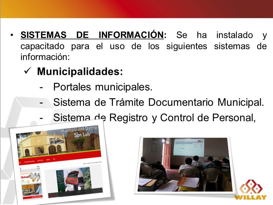 Sistema de Trámite Documentario Municipal.