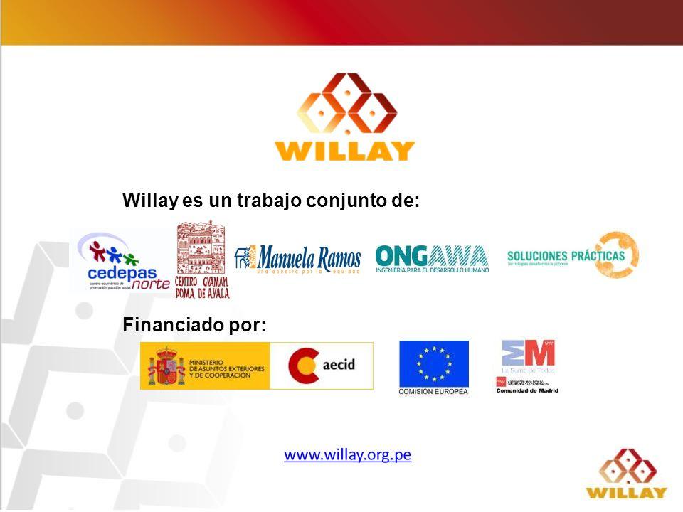 Willay es un trabajo conjunto de: