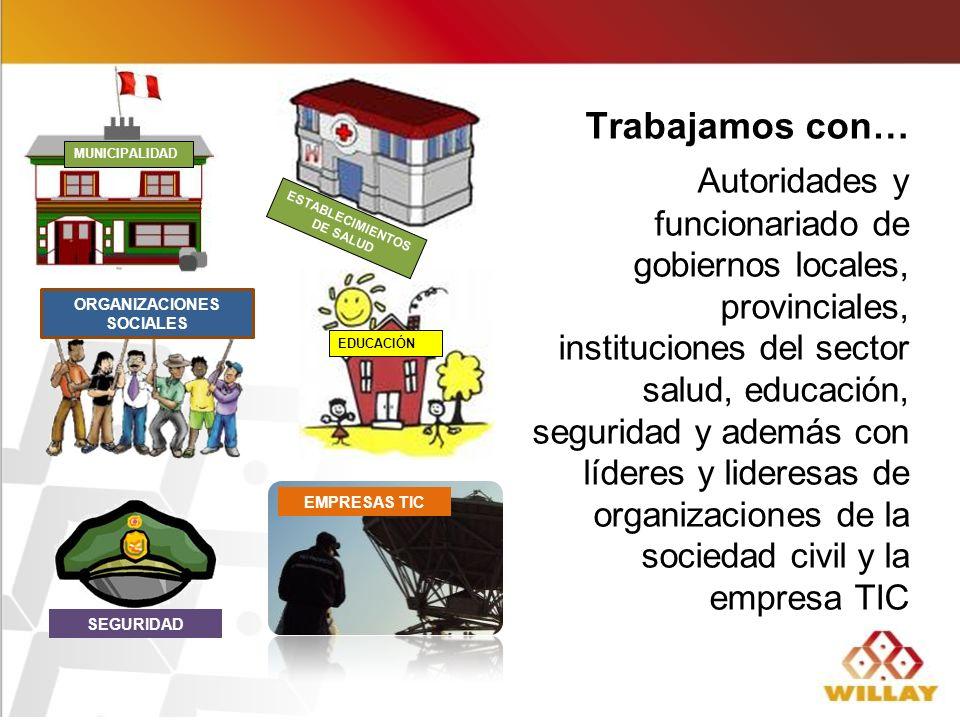 ESTABLECIMIENTOS DE SALUD ORGANIZACIONES SOCIALES