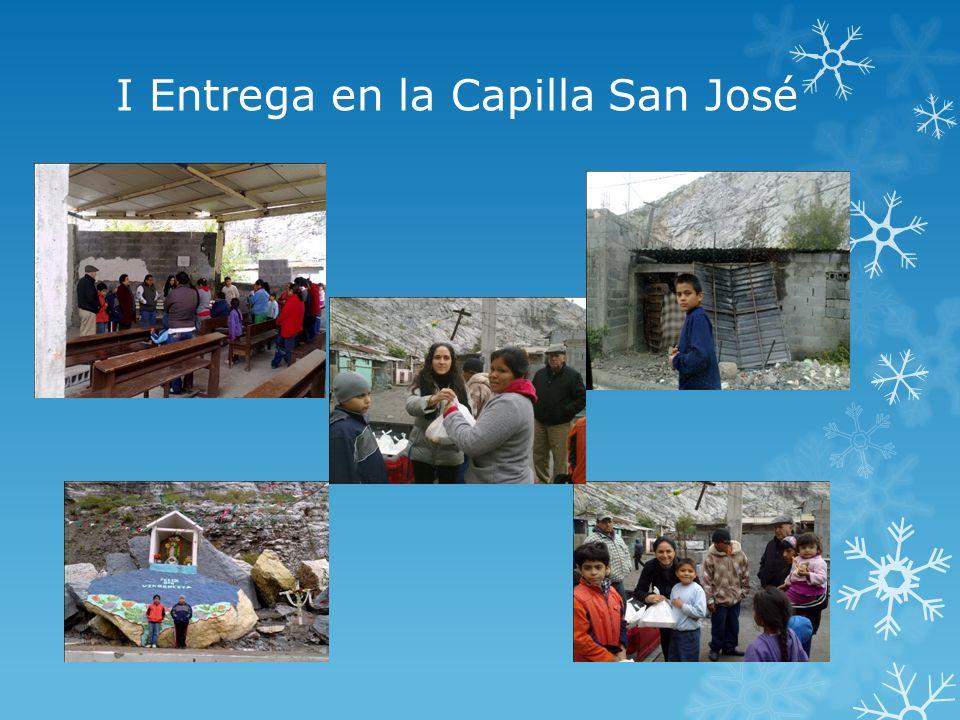 I Entrega en la Capilla San José