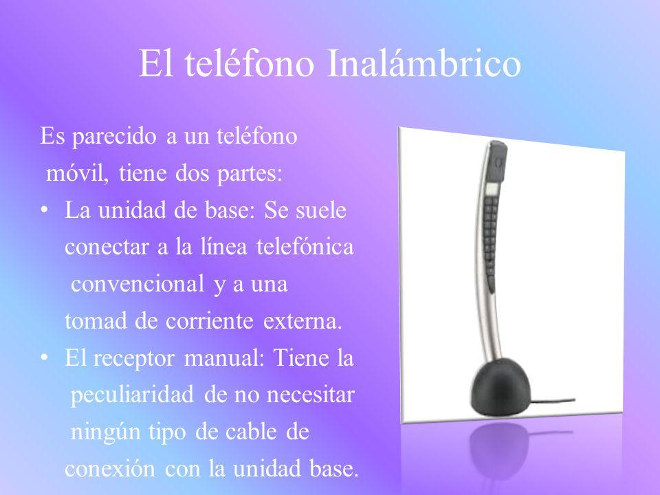 El teléfono Inalámbrico