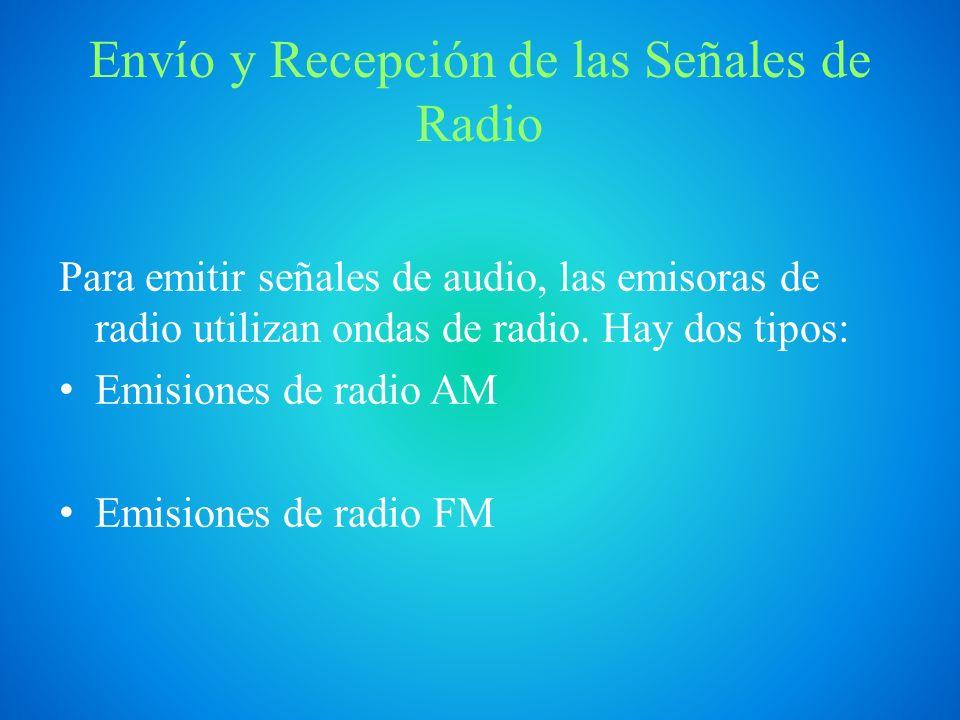 Envío y Recepción de las Señales de Radio