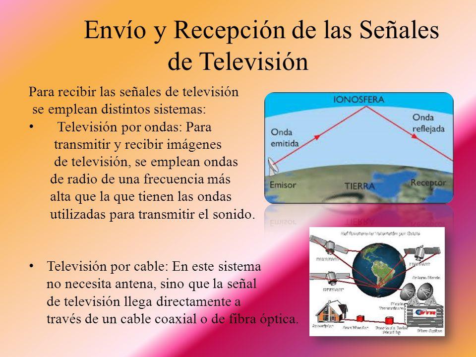 Envío y Recepción de las Señales de Televisión