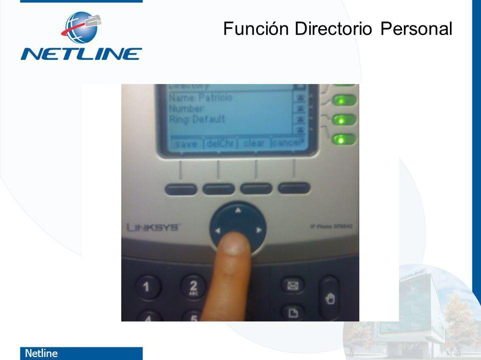 Función Directorio Personal