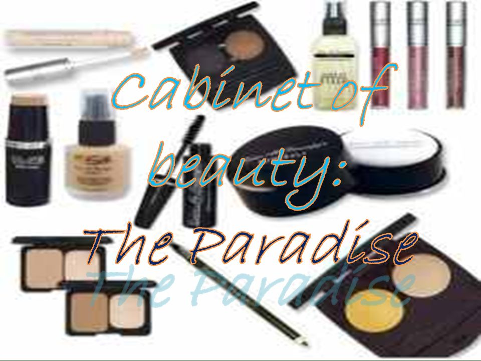 Cabinet of beauty: The Paradise