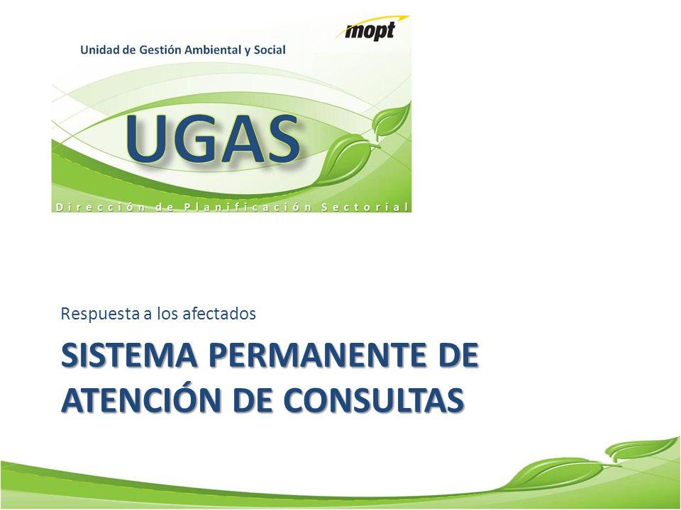 Sistema Permanente de atención de consultas