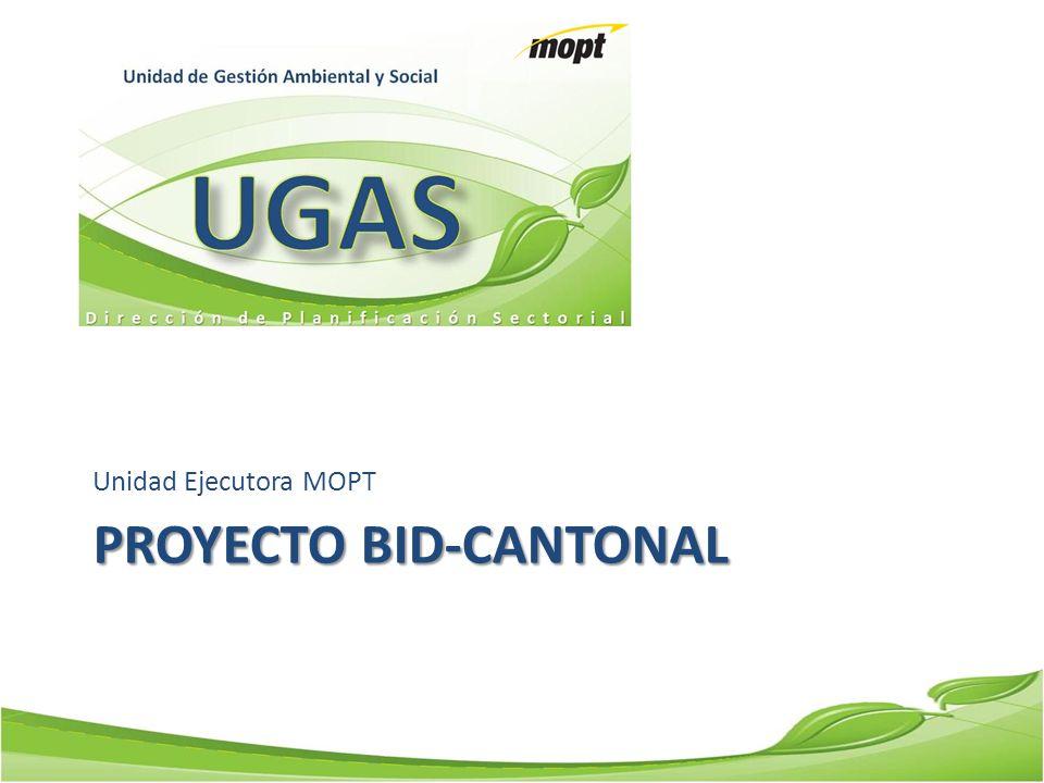 Proyecto BID-Cantonal