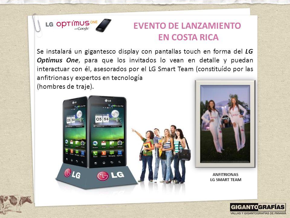 EVENTO DE LANZAMIENTO EN COSTA RICA