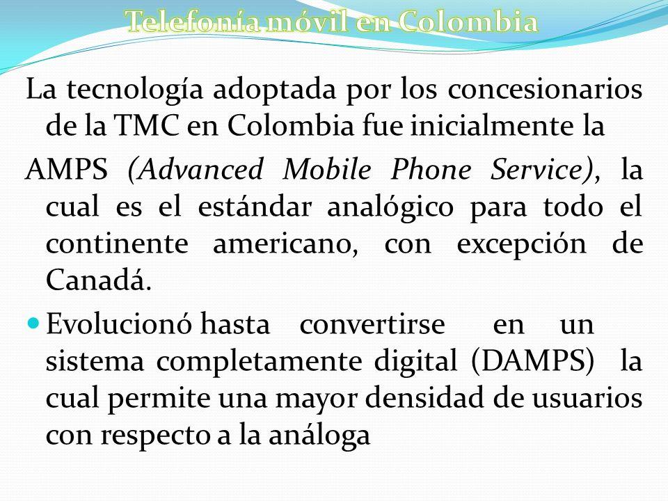 Telefonía móvil en Colombia