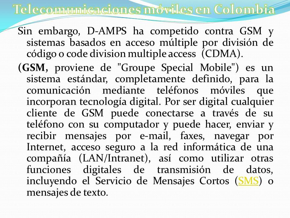 Telecomunicaciones móviles en Colombia