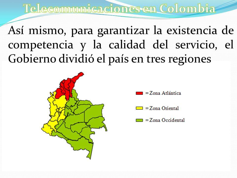 Telecomunicaciones en Colombia