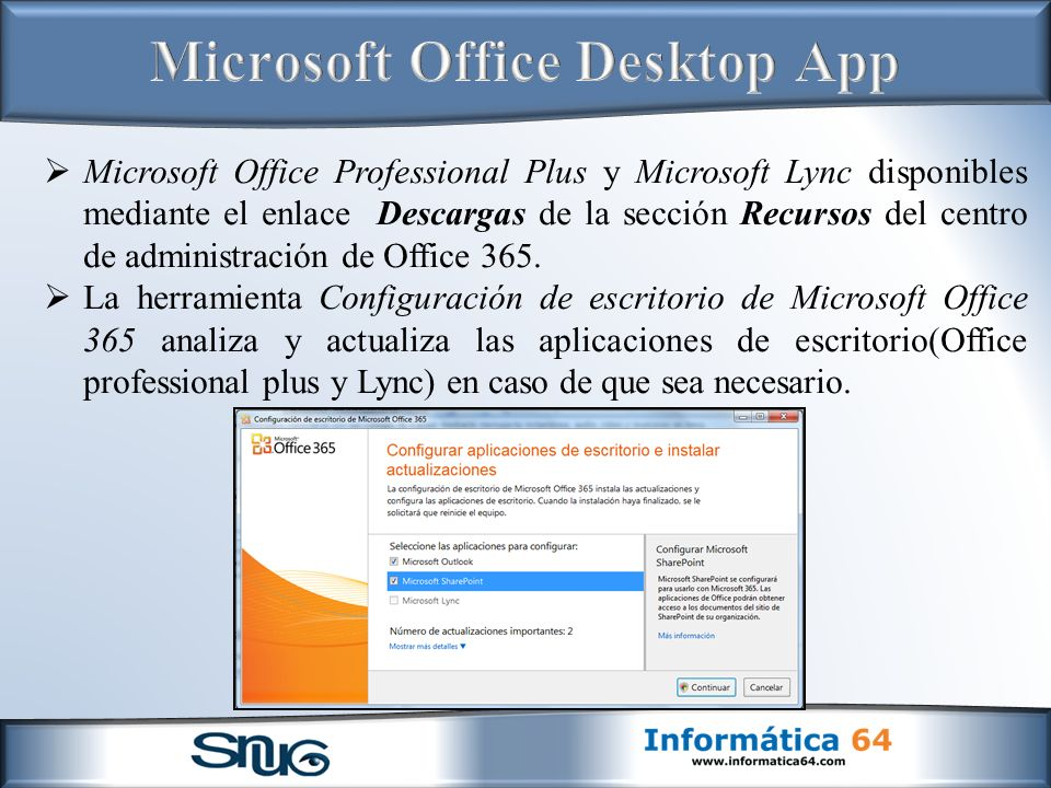Microsoft Office Desktop App
