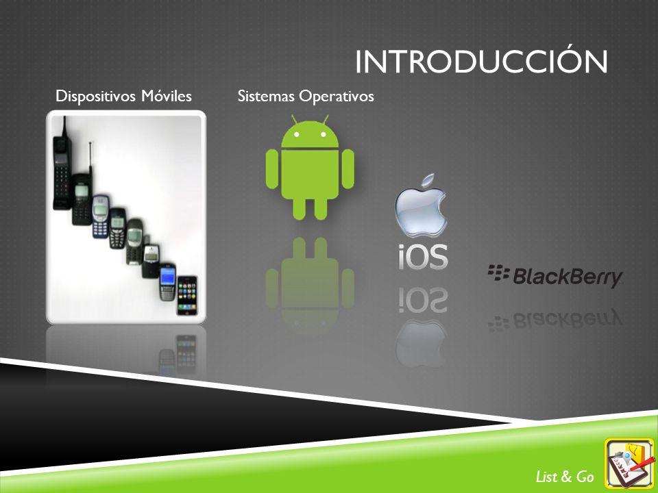 introducción Dispositivos Móviles Sistemas Operativos List & Go