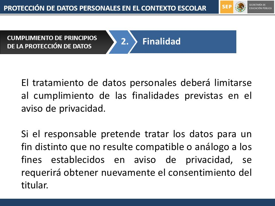 PROTECCIÓN DE DATOS PERSONALES EN EL CONTEXTO ESCOLAR