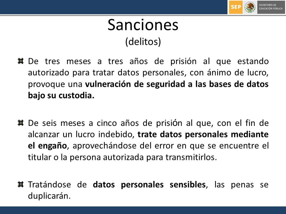 Sanciones (delitos)