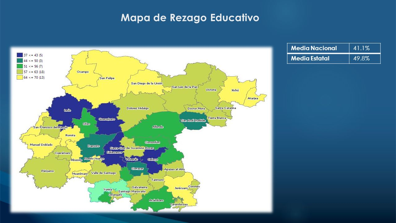 Mapa de Rezago Educativo