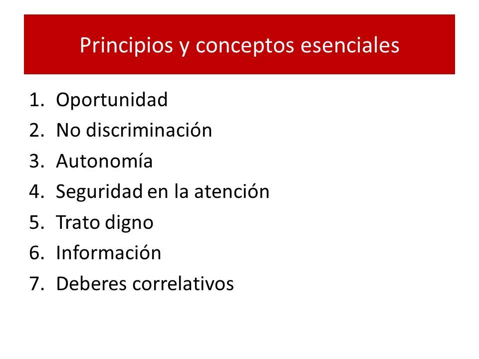 Principios y conceptos esenciales