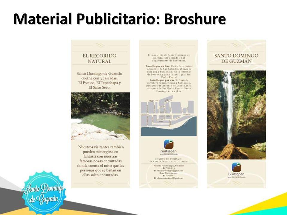 Material Publicitario: Broshure